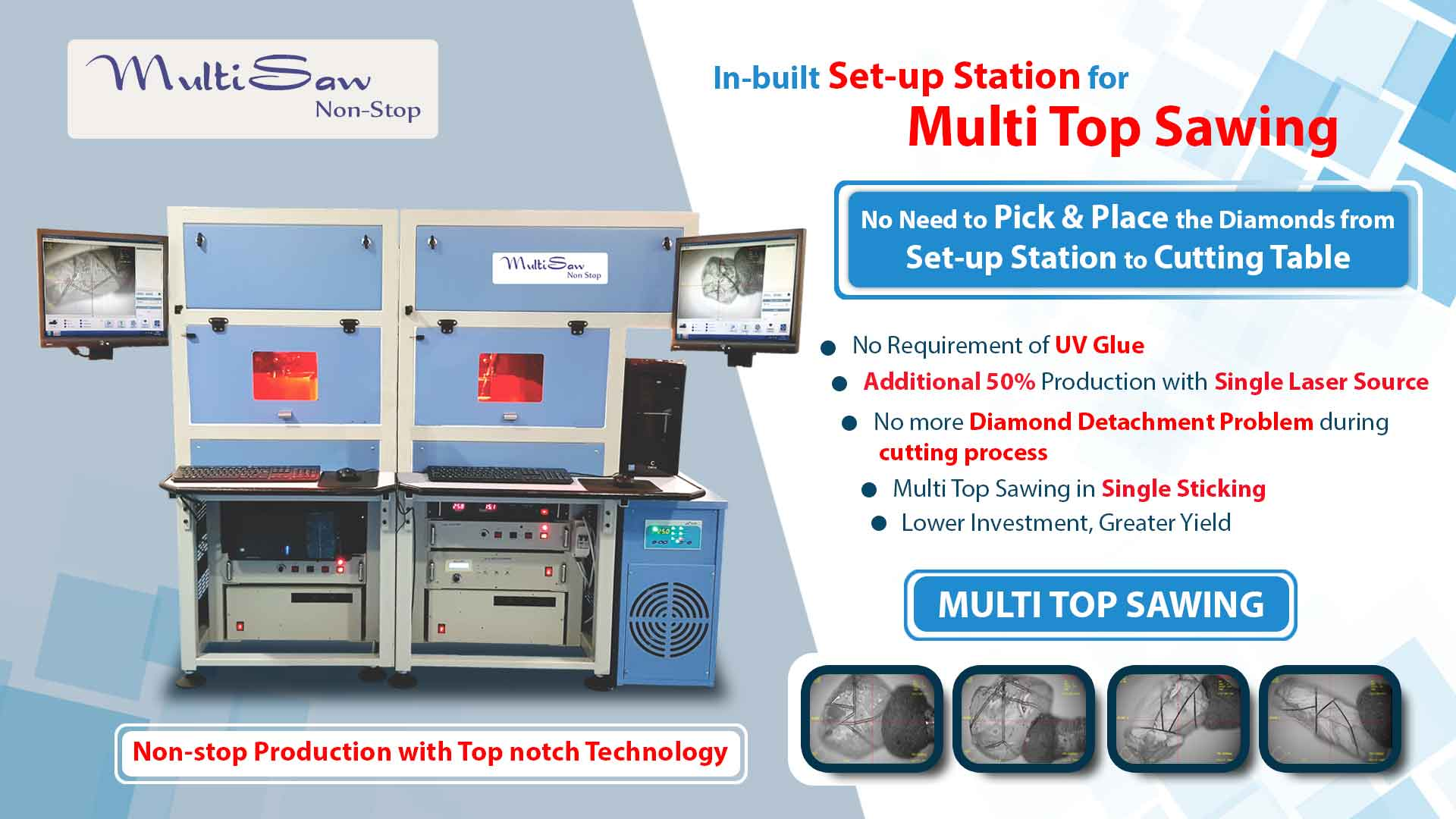 Multi Top Sawing